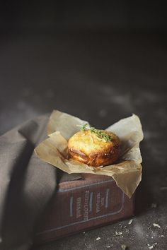 Thyme and Parmesan Popovers.