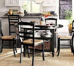 Shayne Table & Isabella Chair Set #potterybarn - For the Breakfast Room Window $1,335