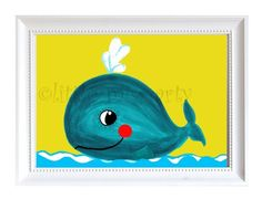 youngsters print baby whale - http://babyfur.net/kids-print-baby-whale/