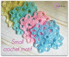 Crochet motif - free pattern