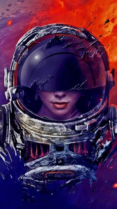 The Ghost Astronaut Artistic Wallpaper Wallpaper - Android Wallpapers Cool Wallpapers For Phones, Wallpapers Android, Latest Hd Wallpapers, Best Iphone Wallpapers, 2k Wallpaper, Artistic Wallpaper, Galaxy Wallpaper, Wallpaper Samsung, Poster