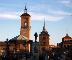 Madrid Alcala de henares plaza cervantes -