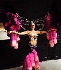 Jubilee Fuchsia Showgirl - Bob Mackie