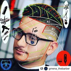 "56 Likes, 4 Comments - Hairchitect By Joffre Jara (@hairchitectapp) on Instagram: ""#Repost @gmena_thebarber ・・・ Another step by step haircut using the @hairchitect_the_app  amazing…"""