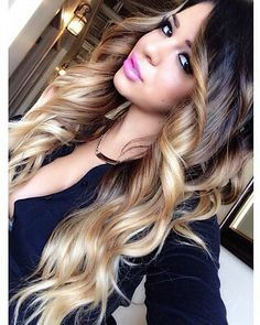 We love long, luscious hair ♥ | Get this look with Cliphair 100% Remy Human Hair Extensions | Available in extra thick Double Wefted style | Prices from just £34.99 for a Full Head set | 45 gorgeous shades to choose from | Free worldwide delivery | Next day delivery available | Click the image to shop now! www.cliphair.co.uk