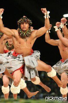 Hawaiian Men Dancers