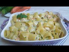 Pasta  al forno salmone e zucchine - YouTube
