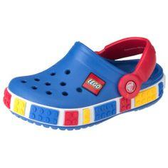 CROCS Crocband LEGO Kinderschuhe, Farbe blau/rot  http://www.meinspielzeug24.de/crocs-crocband-lego-kinderschuhe-farbe-blaurot  #Junge #Sandalen, #Schuhe