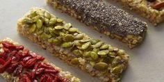 barra de cereal - caseira- sem forno