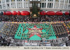 North Carolina A & T State University Marching Band 2012 Macy's Thanksgiving Day Parade Photo