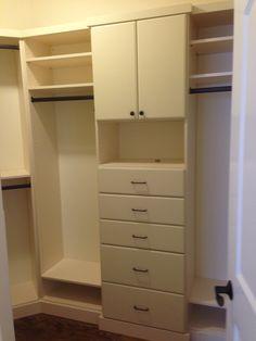 Small closet can still be organized!