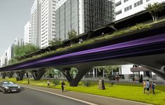 MAD Architects partners with Hyperloop Transportation Technologies (HyperloopTT) on the development of an elevated, rapid transport system. MAD's design… Architect Jobs, Architect Design, Mad Design, Urban Design, Sustainable Transport, Transportation Technology, The Second City, Alvar Aalto, Construction