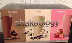 My shakeology - healthiest meal of the day!