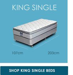 King Single 1070 X 2030 Mm