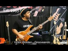 VICTOR WOOTEN BASS SOLO | Warwick Bass Camp 2014 - YouTube