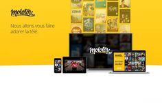 Molotov.tv : les chaînes TNT en Live et en Replay, regroupées dans une seule application ! Et on pourra même enregistrer jusqu'à 10 heures de programmes... Le tout, GRATUITEMENT ;) A surveiller de près ! #MolotovTV #TNT #SVoD #Application #TV #ReplayTNT