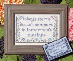 Today's Storm - Cross Stitch Pattern