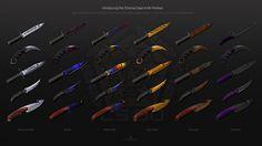 CS GO knives!