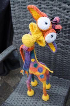 Giraffe George Amigurumi pattern by LittleOwlsHut- hilarious