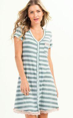 13deb2170 9074 - Camisola abotoada - Mixte Pijamas