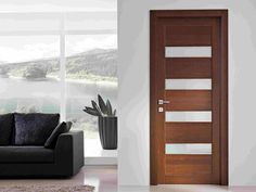 Modern Interior Doors Images On Top Home Designing Inspiration with Modern Interior Doors - Home Interior Design Ideas Home Door Design, Bedroom Door Design, Door Design Interior, Interior Barn Doors, Bedroom Doors, Craftsman Interior, Exterior Doors, Wood Bedroom, Contemporary Interior Doors