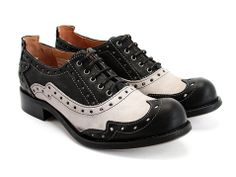 I have always wanted a pair of saddle oxfords, so why not a pair of Fluevogs?