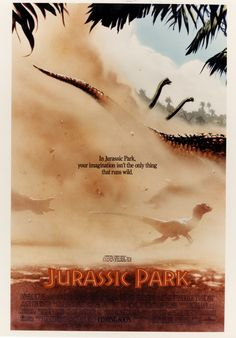 "This Unseen ""Jurassic Park"" Poster Art Is Incredible"