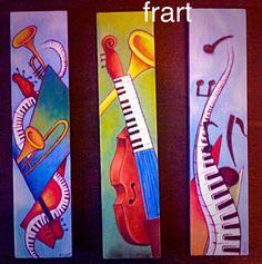 Musica Realizzati con aerografo Frart 2015