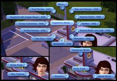 Mod The Sims - Buy Takeout And Order Food At Restaurants Sims 3 Mods, Sims 4 Game Mods, Sims Games, Sims 1, The Sims, Sims Glitches, Sims 3 Cc Finds, Sims 4 Cc Shoes, Play Sims