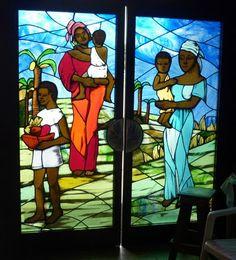 Abidjan, Côte d'Ivoire, 2010. William Blake, Change Is Good, Ivoire, West Africa, Sierra Leone, Wildlife, Elephant, Window, Painting