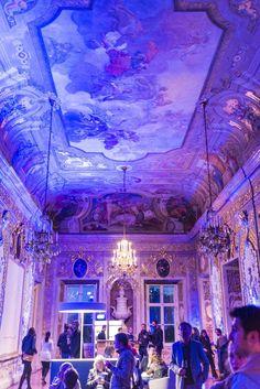 Das Palais Schwarzenberg wird durch die Vienna Design Week erleuchtet.  #vdw2017 #wien #eventfotografie
