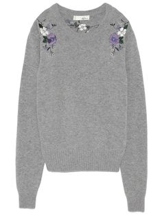 7ad8892b356dd0 Embroidered knit pullover (knit)