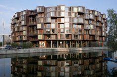 tietkenkollegiet circular residence student dorm copenhagen denmark (2)