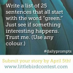 Go write!
