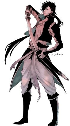 Sinbad - Magi - great costume!