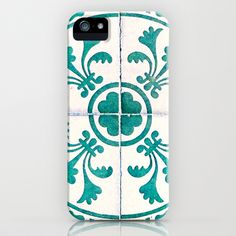 Ancient French tile. Nice iPhone & iPod Case