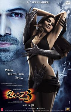 First Look Poster of Raaz 3: Sensuous Spooky!