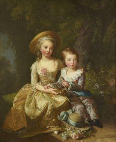 Vigée-Lebrun - Madame Royale et le dauphin