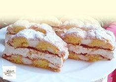 Kardinális szelet, ez az a süti, amit nem lehet kihagyni! Cake Cookies, French Toast, Food And Drink, Sweets, Homemade, Breakfast, Recipes, Diet, Essen