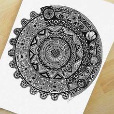 """Imagination is the only weapon in the war against reality"" #mandalala #mandala #drawing #artistic_empire #artshare #art_help #micron #oksanastepanova #artfido #zentangle #mysticalmandalas #love_mandalas #mandaladesign #artist_sharing #daily_art #artist_4_shoutout #artistic_nation #instaart #artshelp #instaartist #mandaladesign #inkwork #geometry #artistic_share"