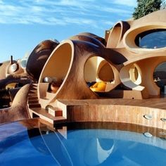 Beautiful Palace of Bubbles in France. #dwellinggawker