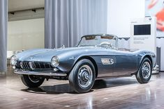 BMW 507, 1956–1959, 252 units built. Sweet Sunday driver.