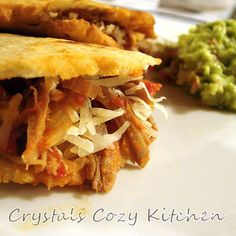 Crystal's Cozy Kitchen: Gorditas