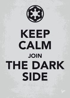My Keep Calm Star Wars - Galactic Empire via chungkong