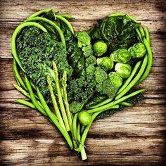 Resist the junk food temptation. The American Heart Association says green veggies boost energy and are great for #hearthealth!