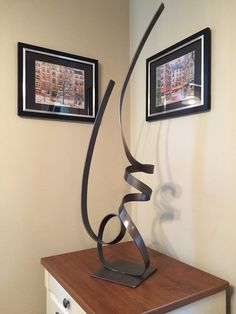 Modern Abstract Aluminum Metal Sculpture Garden by andre2711