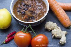 Cubaanse zwarte bonen soep