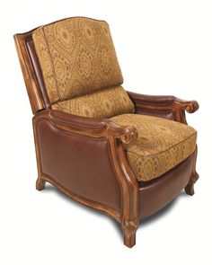Shop Barcalounger Cambridge II Dark Brown Gold Push Through Arm Recliner with great price, The Classy Home Furniture has the best selection of to choose from Living Room Furniture, Home Furniture, Barcalounger, Cambridge, Dark Brown, Accent Chairs, Armchair, Arms, Garden Recliners