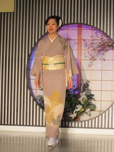 Kimono from Kyoto fashion show