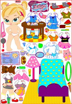 bratz babyz paper dolls. Бумажные куклы малышки братц - Мария Мальцева - Picasa Web Albums